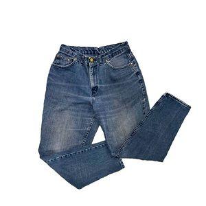 VTG CHIC High Rise tapered leg mom denim jeans 29